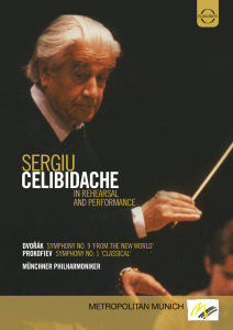 Sergiu Celibidache in Rehearsal and Performance
