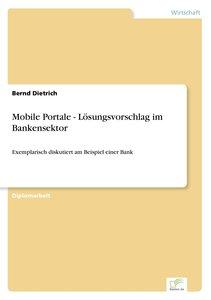 Mobile Portale - Lösungsvorschlag im Bankensektor