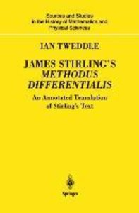 James Stirling's Methodus Differentialis
