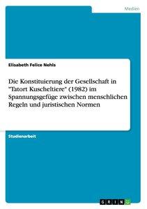 """Die Konstituierung der Gesellschaft in """"Tatort Kuscheltiere"""" (19"""