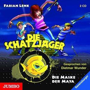 Die Schatzjäger - Die Maske der Maya, 2 Audio-CDs