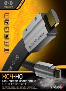 Gioteck XC4-HQ High Speed HDMI Cable with Ethernet