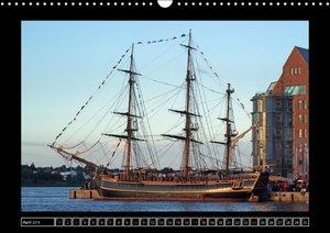 Vollschiffe und Barken 2016 (Wandkalender 2016 DIN A3 quer)