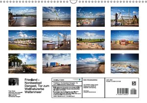 Friesland - Nordseebad Dangast (Wandkalender 2016 DIN A3 quer)