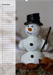 Geburtstagskalender Schneemann des Monats (Wandkalender 2013 DIN