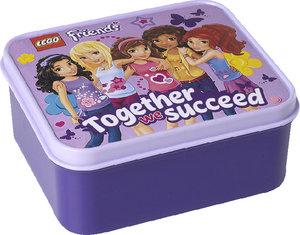 Lego Friends Lunch Box lila