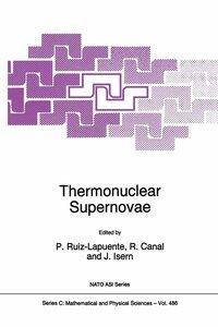 Thermonuclear Supernovae