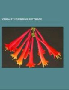Vocal synthesising software