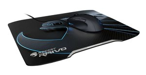 ROCCAT Raivo Stealth Black High-Velocity Gaming Mousepad