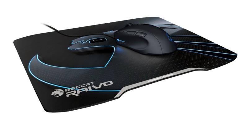 ROCCAT Raivo Stealth Black High-Velocity Gaming Mousepad - zum Schließen ins Bild klicken
