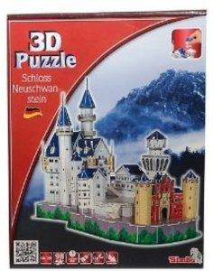 Simba 106130598 - Neuschwanstein, 3D Puzzle