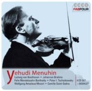 Yehudi Menuhin: Violinkonzerte