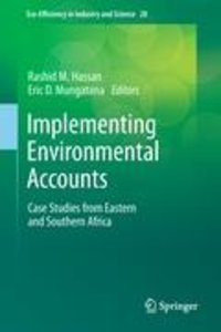 Implementing Environmental Accounts