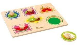 Bino 70409 - Greifpuzzle: Formen