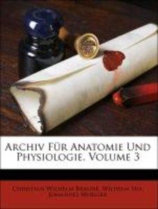 Archiv Für Anatomie Und Physiologie, Volume 3
