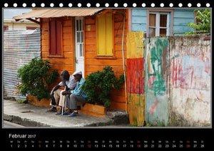 Karibik 2017 - Gebäude und Fassaden (Tischkalender 2017 DIN A5 q
