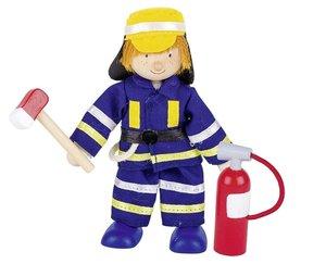 Goki 51637 - Biegepuppe Feuerwehrmann II