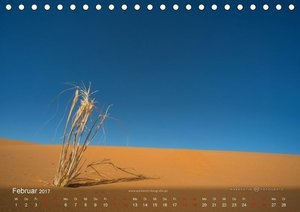 Sahara - Land der unendlichen Weite (Tischkalender 2017 DIN A5 q