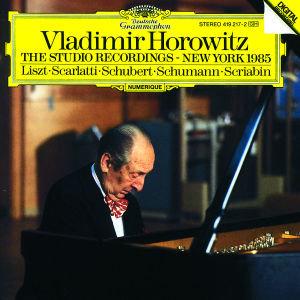 HOROWITZ STUDIO RECORDINGS NEW YORK 1985