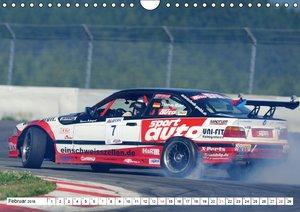 Motorsport am Nürburgring (Wandkalender 2016 DIN A4 quer)