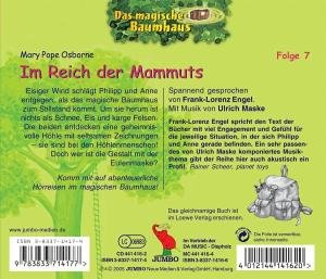 Das magische Baumhaus 07. Im Reich der Mammuts. CD