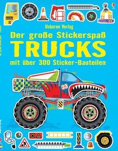 Der große Stickerspaß: Trucks