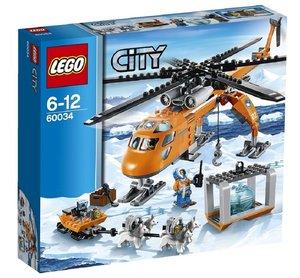 LEGO® City 60034 - Arktis-Helikopter mit Hundeschlitten