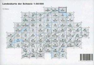 Swisstopo 1 : 50 000 Konstanz