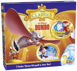Classics-Box Dumbo,Pinochio,Bernhard & Bianca