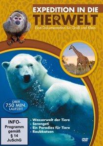 Expedition in die Tierwelt (4 DVDs in hochwertiger O-Card)
