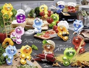 Gelini Küche, Kochen, Leidenschaft. Puzzle 2000 Teile