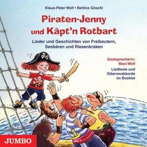 Piraten-Jenny und Käpt'n Rotbart. CD