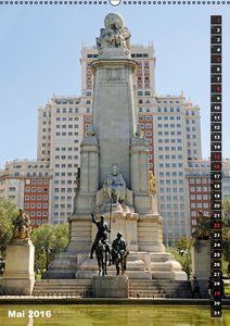 Madrid (Wandkalender 2016 DIN A2 hoch)