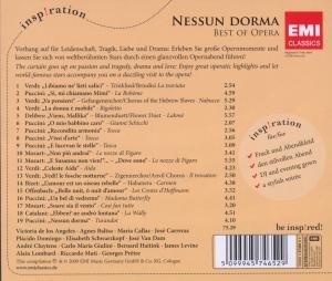 Nessun Dorma-Best Of Opera