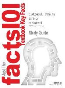 Studyguide for Consumer Behavior by Blackwell, ISBN 978003021108