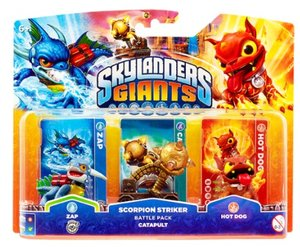 Skylanders: Giants Catapult Pack (Zap, Carapult, Hot Dog)