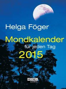 Mondkalender für jeden Tag 2015 Taschenkalender