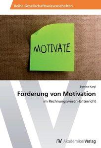 Förderung von Motivation