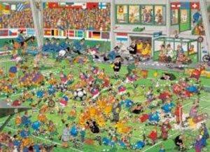 Das Fußballspiel. Puzzle 1000 Teile