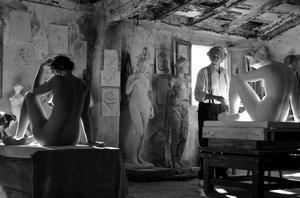 Das Mädchen und der Künstler
