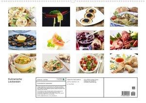 Kulinarische Leckereien (Posterbuch DIN A2 quer)