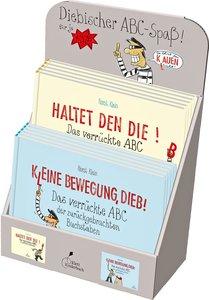 """Verkaufsdisplay \""""Diebischer ABC-Spaß\"""""""