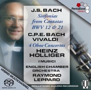 Sinfonias aus Kantaten BWV 12 & 21/4 Oboenkonzerte