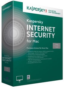 Kaspersky Internet Security for MAC (1 MAC/1 Jahr) - Premium-Sch