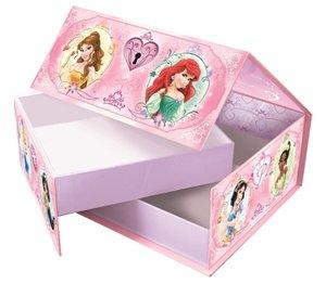 Disney Princess - 2 Puzzle in Geschenk-Box