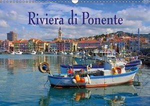 Riviera di Ponente (Wall Calendar 2015 DIN A3 Landscape)