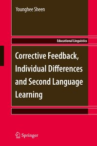 Corrective Feedback, Individual Differences and Second Language