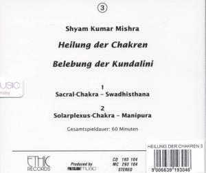 Heilung Der Chakren-Sacral/Solarplexus