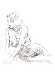 Figure Studies of Women (Poster Book DIN A4 Portrait)
