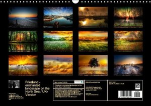 Friesland - enchanted landscape on the North Sea / UK-Version (W